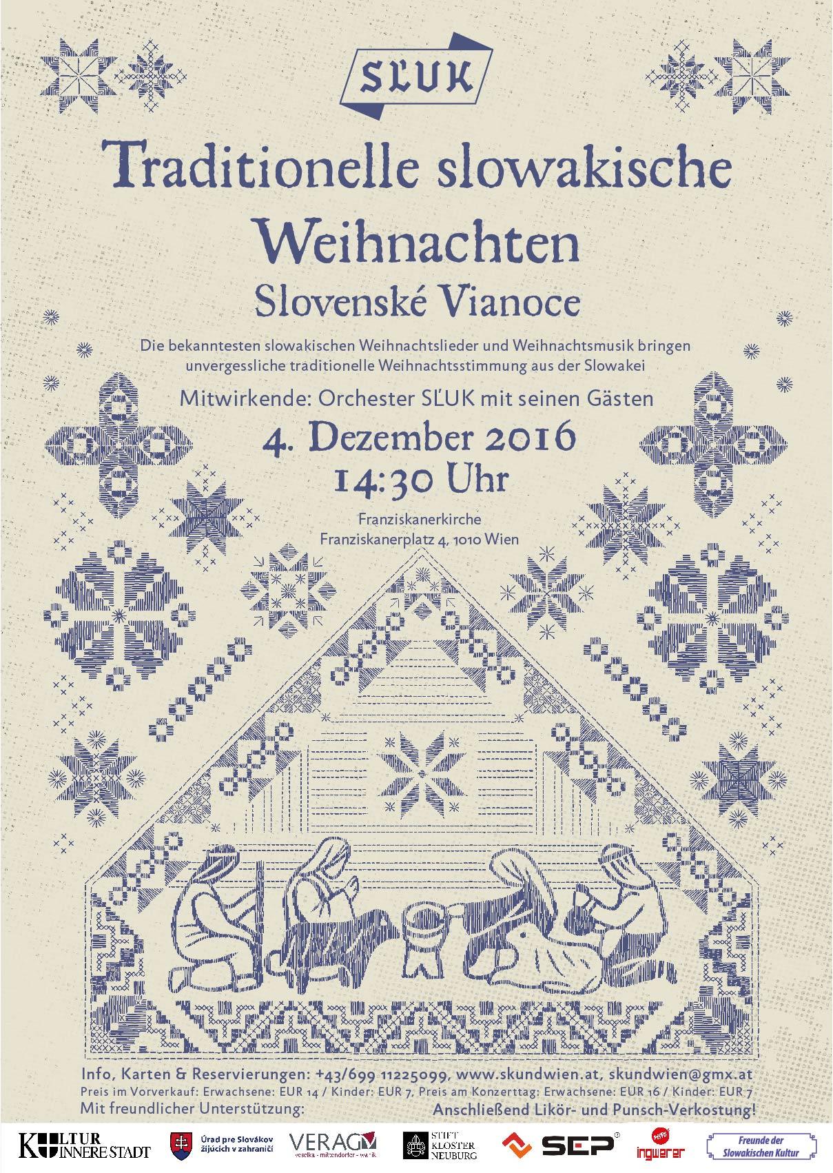 Traditionelle Weihnachtslieder.Traditionelle Slowakische Weihnachten 2016 Slovenské Vianoce
